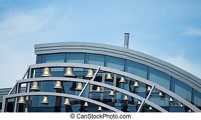 Modern building facade