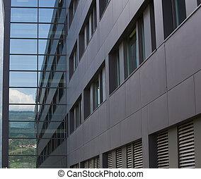 Modern building fragment