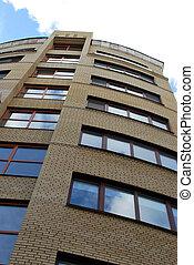 Modern Building - High modern building, Kharkiv city,...