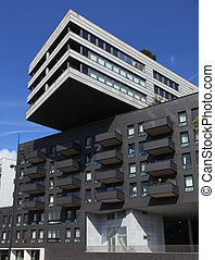 modern building in Amsterdam, Holland