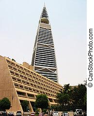Modern building in Er Riyadh, Saudi Arabia
