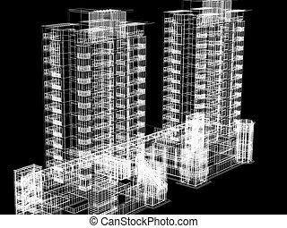 modern building - modern building