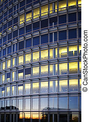 modern building - modern exterior abstract architectural...