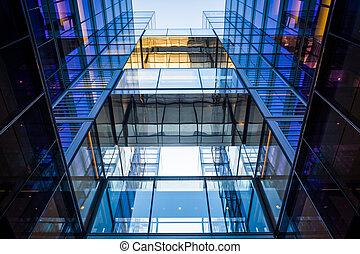 Modern building on 10th Street in Washington, DC.