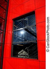 Modern building window