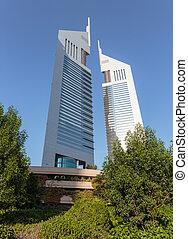 Modern buildings in Dubai UAE