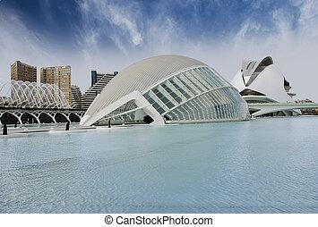 Modern Buildings in Valencia, Spain - Modern Buildings of...