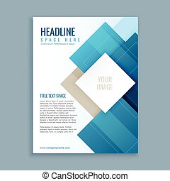 modern business brochure template flyer