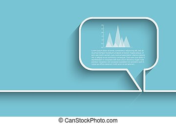 bubble speech template