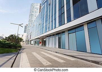 modern business building exterior