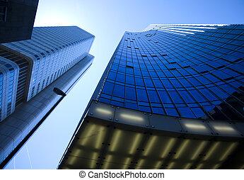 Modern business building