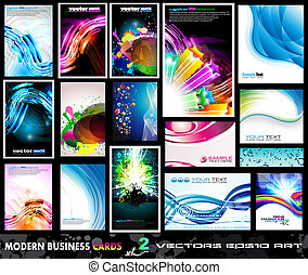 Modern Business Card Collection - Set 2 - Modern Business...