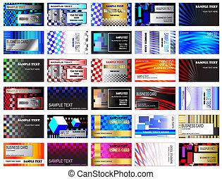 Modern Business Cards - High tech modern business card...