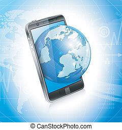 Modern Business Concept - Modern Technology Business Concept...