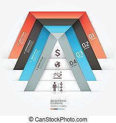 Modern business infographics.