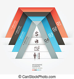 Modern business infographics.