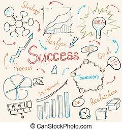 business inspiration concept - Modern business inspiration...