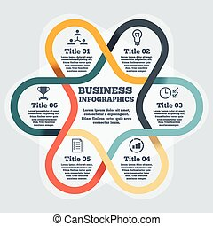 Modern Business Step Origami Style Options Banner Web Template Infographics