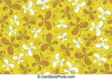 modern butterflies pattern