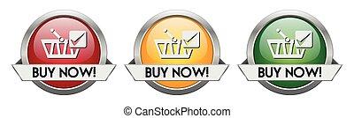 Modern Button Vector Buy Now!