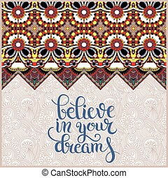 positive quote believe in your dreams inscription lettering