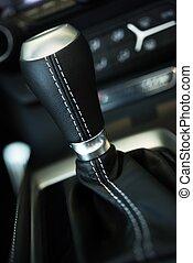 Transmission Stick Closeup