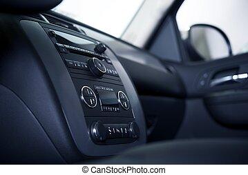 Car Dashboard and Interior - Modern Car Dashboard and...