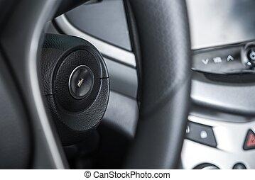 Car Ignition Keyhole