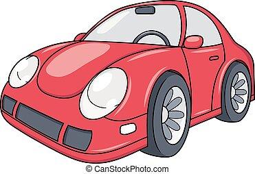 Modern car illustration 2