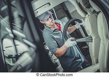 Car Interior Vacuuming