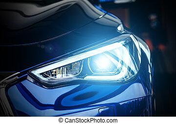 Modern car xenon lamp headlight