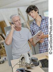 Modern carpenters