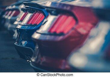 Modern Cars in Dealer Stock