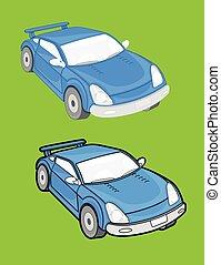 Modern Cars Vector