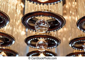 Modern ceiling lighting