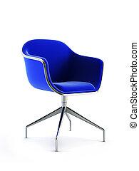 modern chair 3d rendering