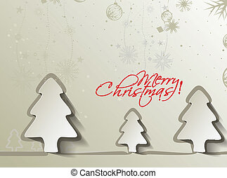 Modern christmas background