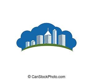 Modern City skyline
