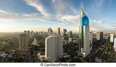 modern, cityscape