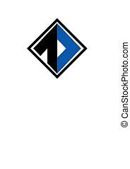 blue color square