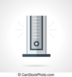 Modern climatic appliance flat color vector icon - Portable...
