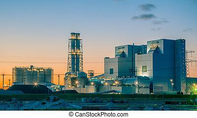 Modern coal power plant - Ultra modern coal powered...