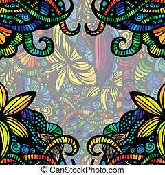 Modern colorful invitation card.