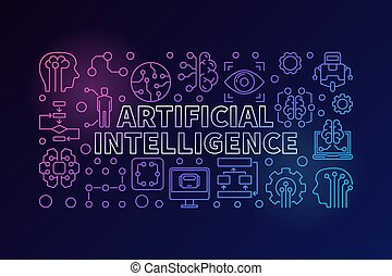 Modern colorful vector AI illustration