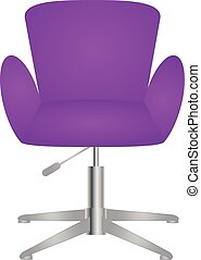 Modern comfortable elegant and stylish chair vector eps 10