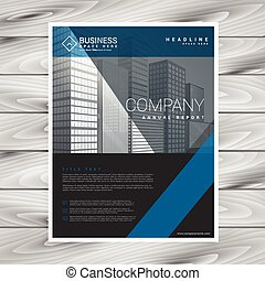 modern company flyer business template