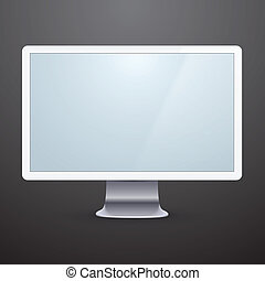 Modern computer display.