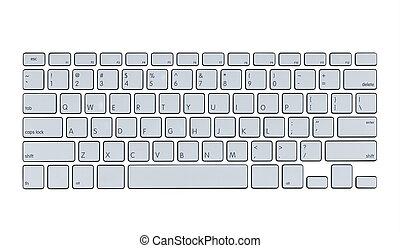 Modern computer keyboard