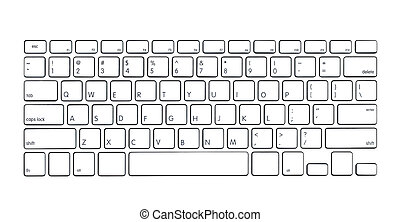 modern, computertastatur