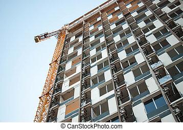 Modern condominium building